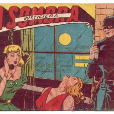 Tebeos: LA SOMBRA JUSTICIERA - Nº 1 - ORIGINAL - FERMA.. Lote 21728284