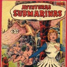 Tebeos: AVENTURAS SUBMARINAS, FERMA, Nº 2 , LAS GRUTAS DEL ANGORT ,. Lote 24542316