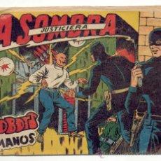 Tebeos: LA SOMBRA JUSTICIERA - Nº 38 -