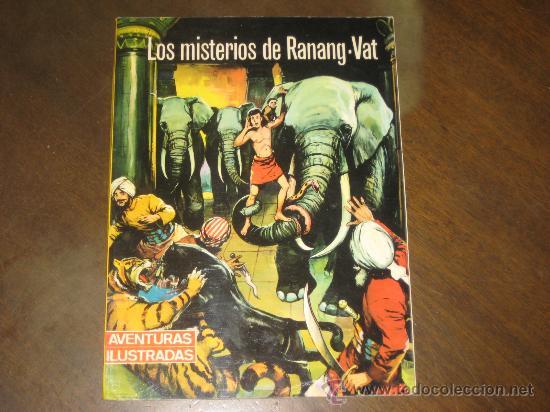 LOS MISTERIOS DE RANANG-VAT - EDITORIAL FERMA 1966 (Tebeos y Comics - Ferma - Aventuras Ilustradas)