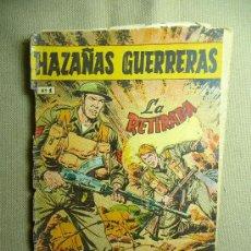 Tebeos: COMIC, HAZAÑAS GUERRERAS, Nº 1, LA RETIRADA, FERMA, ORIGINAL. Lote 22788130