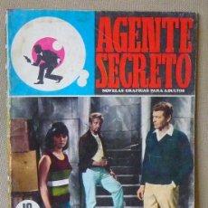 Tebeos: COMIC, FERMA, AGENTE SECRETO, UN BUZO EN LA BAÑERA, Nº 32, ORIGINAL, 1966. Lote 23120609