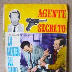 Tebeos: COMIC, FERMA, AGENTE SECRETO, LA CARRETERA DEL DIABLO, Nº 11, ORIGINAL, 1966. Lote 23120856