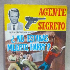 BDs: COMIC, NOVELA GRAFICA, AGENTE SECRETO, NO ESTABAS MUERTO HARRY?, FERMA,. Lote 23628786