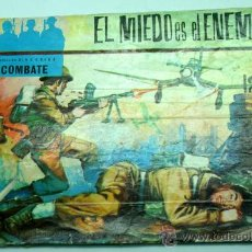 Tebeos: CINECOLOR COMBATE Nº 9 EL MIEDO ES EL ENEMIGO EDITORIAL FERMA 1963. Lote 23682746