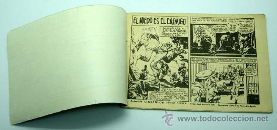 Tebeos: Cinecolor Combate nº 9 El miedo es el enemigo Editorial Ferma 1963 - Foto 2 - 23682746