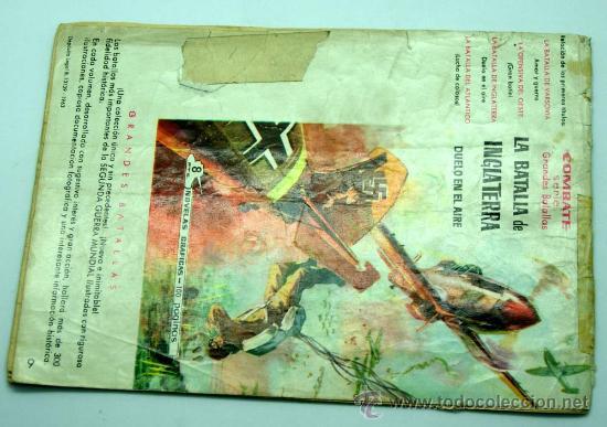 Tebeos: Cinecolor Combate nº 9 El miedo es el enemigo Editorial Ferma 1963 - Foto 3 - 23682746