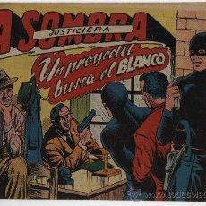 Tebeos: LA SOMBRA JUSTICIERA Nº 13: UN PROYECTIL BUSCA EL BLANCO.. Lote 23839436