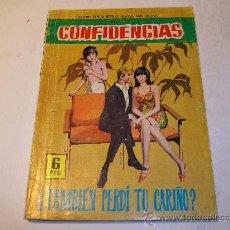 Tebeos: EDITORIAL FERMA/ CONFIDENCIAS, Nº 391. Lote 24335238