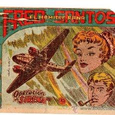 Tebeos: FRED SANTOS EL HOMBRE PEZ Nº 9 EDITA FERMA . Lote 24425457