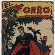 Tebeos: EL ZORRO Nº 25. FERMA 1956. ÚLTIMO DE LA COLECCIÓN. DIFICIL... Lote 24665736