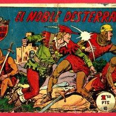 Tebeos: ROBIN HOOD , EL NOBLE DESTERRADO , EDITORIAL FERMA , ORIGINAL , B. Lote 24692740