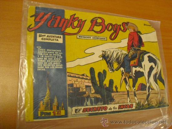 YANKY BOYS, EL SECRETO DE LOS INCAS (Tebeos y Comics - Ferma - Otros)