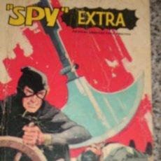 Tebeos: SPY EXTRA - Nº 2 - ESPAÑA - FERMA - 1969 (TELA DE ARAÑA/ ONDAS MORTALES/AMENAZA EN HONG KONG). Lote 25755068