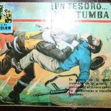 Tebeos: COLECCION CINECOLOR - Nº37 - UN TESORO Y UNA TUMBA. Lote 26808659
