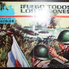 Tebeos: COLECCION CINECOLOR - Nº 19 - FUEGO TODOS LOS CAÑONES. Lote 26808661
