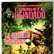 Tebeos: COMBATE BLINDADO Nº 139, EDI. FERMA 1962, LA PATRULLA CONDENADA. Lote 26828311