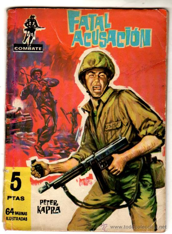 COMBATE Nº 34 EDI. FERMA 1962, 64 PGS. 16,5 X 11,5CMS. (Tebeos y Comics - Ferma - Combate)
