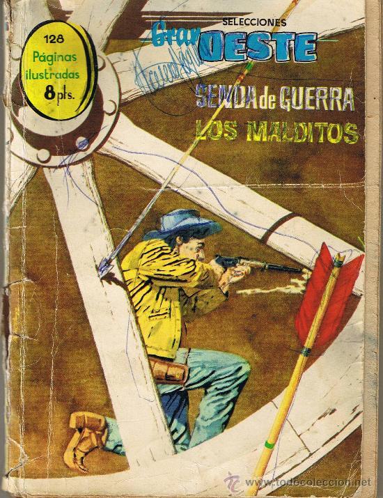 GRAN OESTE - Nº 7 - SENDA DE GUERRA - LOS MALDITOS (Tebeos y Comics - Ferma - Gran Oeste)