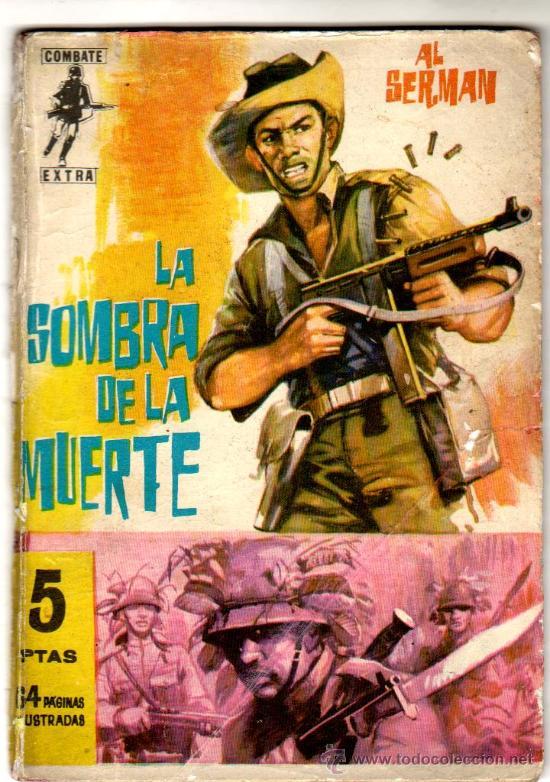 COMBATE EXTRA Nº 1, EDI. FERMA 1962, 64 PGS. 16,5 X 11,5 CMS. MUY DIFICIL (Tebeos y Comics - Ferma - Combate)