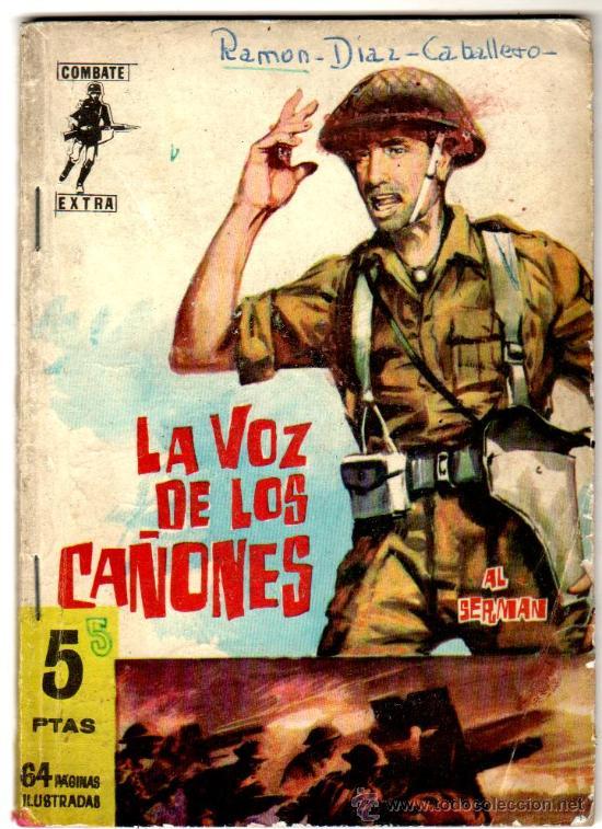 COMBATE EXTRA Nº 5, EDI. FERMA 1962, 64 PGS. 16,5 X 11,5 CMS. MUY DIFICIL (Tebeos y Comics - Ferma - Combate)