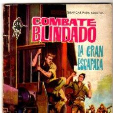 Tebeos: COMBATE BLINDADO Nº 144, EDI. FERMA 1962, 64 PGS. 16,5 X 11,5 CMS.. Lote 27356417