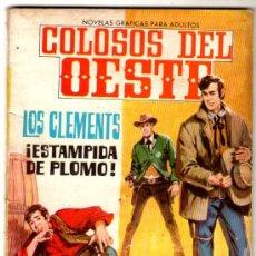 Livros de Banda Desenhada: COLOSOS DEL OESTE Nº 35 - EDI. FERMA 1964 - 64 PGS. FOTO DE MARIKA KILIUS Y HANS JÜRGEN BÄUMLER. Lote 27702621