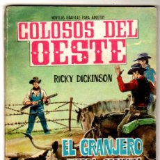 Livros de Banda Desenhada: COLOSOS DEL OESTE Nº 78, EDI. FERMA 1964, 64 PGS. 16,5 X 11,5 CMS, FOTO LYLE BETTGER. Lote 27702690