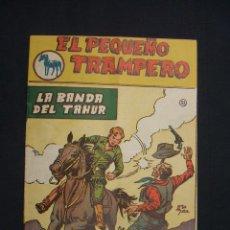 Tebeos: EL PEQUEÑO TRAMPERO - LA BANDA DEL TAHUR - Nº 33 - EDIT. FERMA - ORIGINAL - MUY BUEN ESTADO -. Lote 28090549