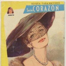 Colección Damita. Serie Corazón nº 22. Ferma 1958. (64 páginas)