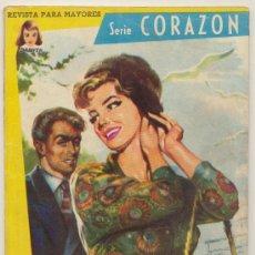 Colección Damita. Serie Corazón nº 9. Ferma 1958. (64 páginas)