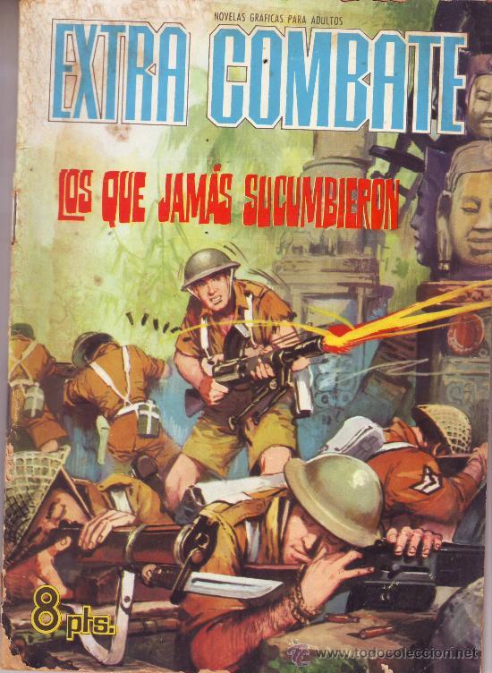 EXTRA COMBATE. LOPS QUE JAMÁS SUCUMBIERON (ERIC) (Tebeos y Comics - Ferma - Combate)