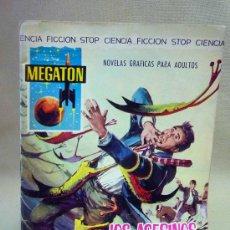 Tebeos: COMIC, MEGATON, LOS ASESINOS DEL MAR, EDITORIAL FERMA, Nº 7, 1966. Lote 28384078