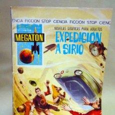 Tebeos: COMIC, MEGATON, EXPEDICION A SIRO, EDITORIAL FERMA, Nº 10, 1966. Lote 28384113