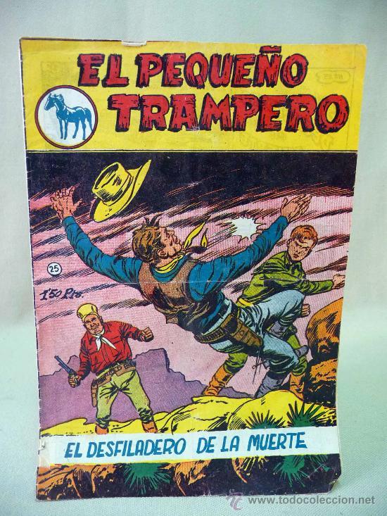 COMIC, EL PEQUEÑO TRAMPERO, EL DESFILADERO DE LA MUERTE, Nº 25, FERMA (Tebeos y Comics - Ferma - Otros)