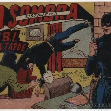 Tebeos: LA SOMBRA JUSTICIERA Nº 17. FERMA 1954.. Lote 28625082