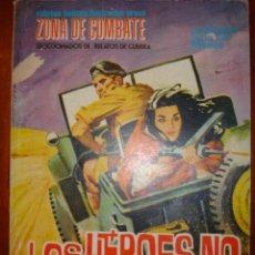Tebeos: ZONA DE COMBATE LOS HEROES NO TIENEN ROSTRO Nº7. Lote 29825919
