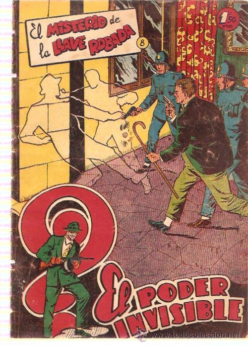 COMIC EL PODER INVISIBLE Nº 8 (Tebeos y Comics - Ferma - Otros)