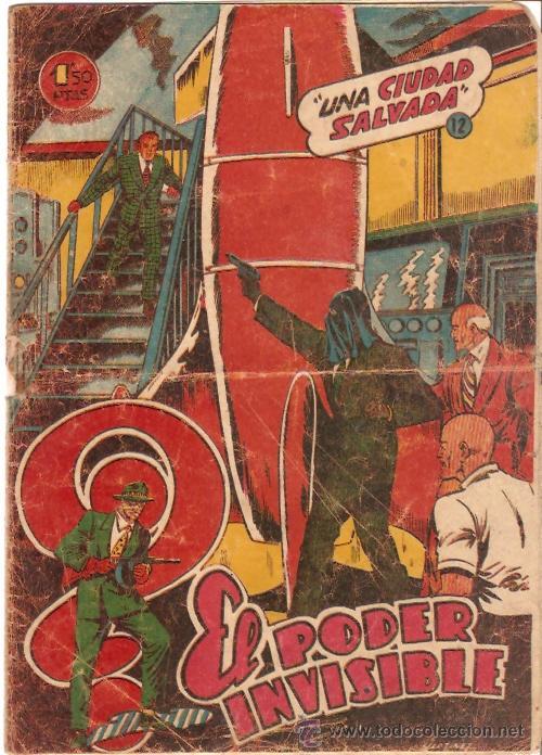 COMIC EL PODER INVISIBLE Nº 12 (Tebeos y Comics - Ferma - Otros)