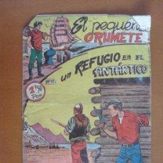 Tebeos: EL PEQUEÑO GRUMETE Nº 12 -- UN REFUGIO EN EL ANTÁRTICO -- (1,50 PTS)* C7. Lote 30639282