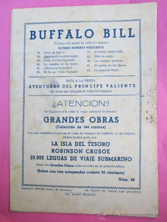 Tebeos: aventuras de buffalo bill, numero 48 , la pequeña tropa , exclusivas ferma - Foto 4 - 30858984