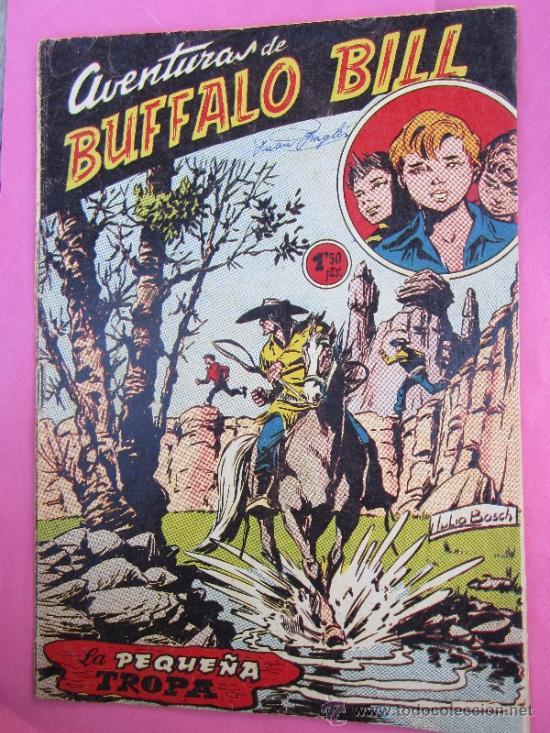 AVENTURAS DE BUFFALO BILL, NUMERO 48 , LA PEQUEÑA TROPA , EXCLUSIVAS FERMA (Tebeos y Comics - Ferma - Otros)