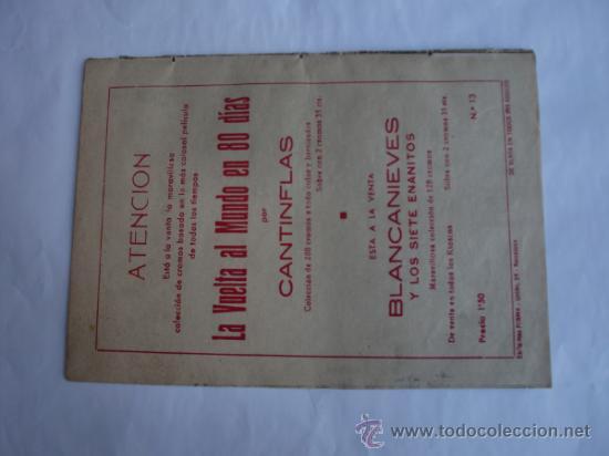 Tebeos: PEQUEÑO TRAMPERO Nº 13 ORIGINAL EDT. FERMA - Foto 2 - 31030432