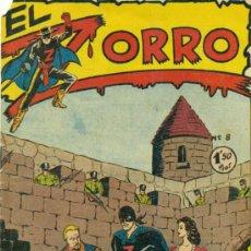 Tebeos: EL ZORRO Nº 8. Lote 31255657