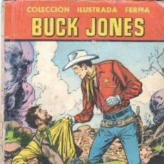 Tebeos: AVENTURAS ILUSTRADAS FERMA Nº 51 1958, 64 PGS, BUCK JONES - COLECCION ILUSTRADA FERMA. Lote 31637248