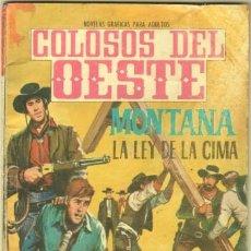 Livros de Banda Desenhada: COLOSOS DEL OESTE Nº 68 EDI. FERMA 1964 - 64 PGS. MONTANA, LA LEY DE LA CIMA- 16,5 X 11,5 CMS.. Lote 31721138