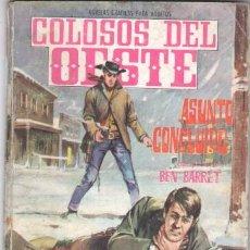 Livros de Banda Desenhada: COLOSOS DEL OESTE Nº 87 EDI. FERMA 1964 -64 PGS. ASUNTO CONCLUIDO -16,5 X 11,5 CMS. ANTONIO CALVARIO. Lote 31721171