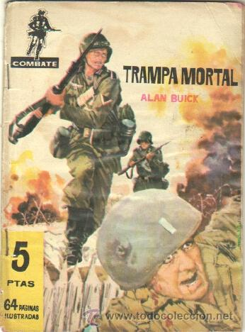 COMBATE Nº 40 EDI. FERMA 1962, 64 PGS. (Tebeos y Comics - Ferma - Combate)