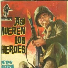 Tebeos: COMBATE Nº 1 EDI. FERMA 1962 - 64 PGS. 16,5 X 11,7 CMS - POR JOSÉ ORTIZ - ASÍ MUEREN LOS HEROES. Lote 32205936
