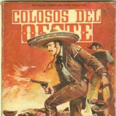 Livros de Banda Desenhada: COLOSOS DEL OESTE Nº 5 - EDI. FERMA 1964 - 64 PGS.JOAQUIN MURRIETA -VIRGINIA MAYO, KIRK DOUGLAS FOTO. Lote 32209112